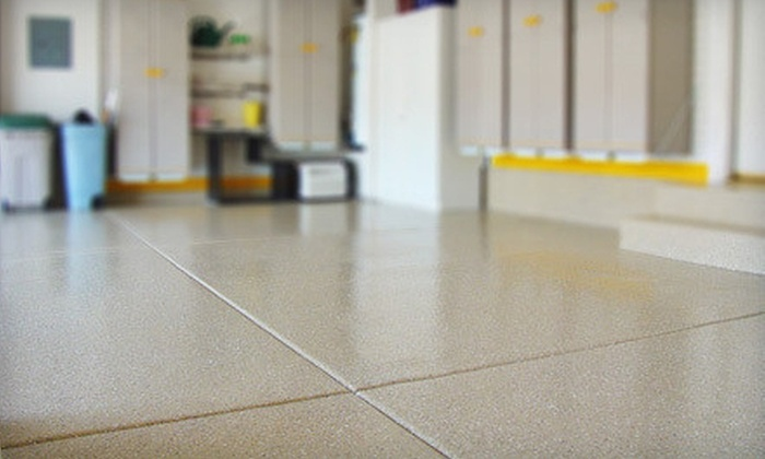 Color Surface - Prospect: Flooring for a Two- or Three-Car Garage from Color Surface (Up to 54% Off)