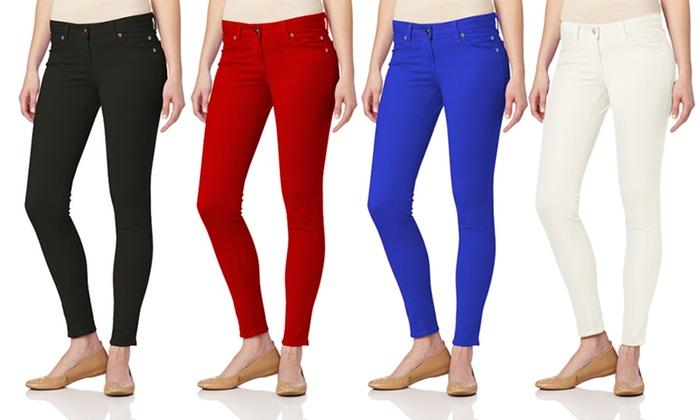 Juniors' 5-Pocket Skinny Jeans: Juniors' 5-Pocket Skinny Jeans