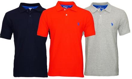 U.S. POLO Poloshirt für Herren in der Farbe nach Wahl (Munchen)