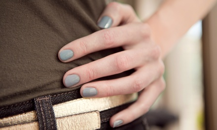 One or Three Manicures and Hot-Stone Pedicures at Jennifer C Beauty (Up to 55% Off)