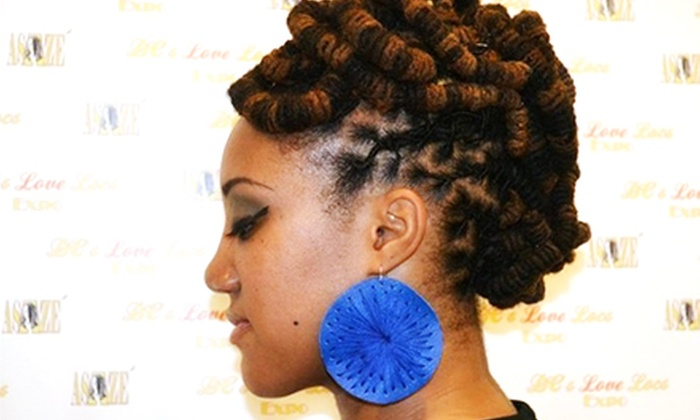 Naturaleemee - Camp Springs: Two-Strand Twist or Loc Maintenance with Optional Deep-Cleansing Treatment at Naturaleemee (53% Off)