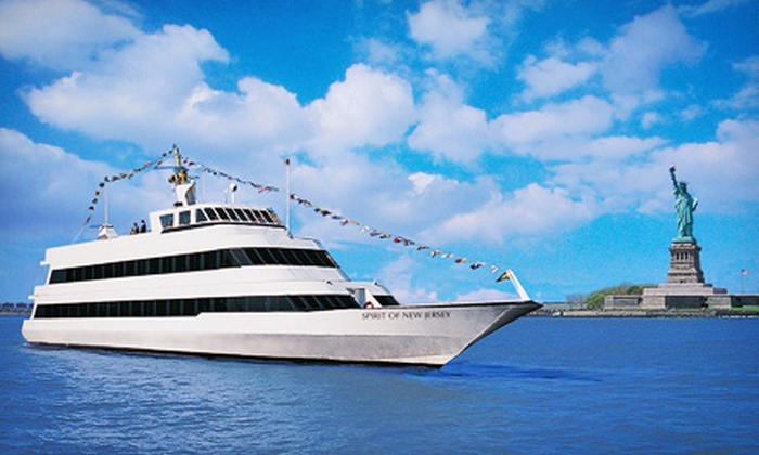 Spirit of New Jersey - Weehawken: Three-Hour Dinner Cruise on Spirit of New Jersey (Up to 41% Off). Three Options Available.