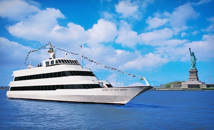 Three-Hour Dinner Cruise on Spirit of New Jersey (Up to 41% Off). Three Options Available. *