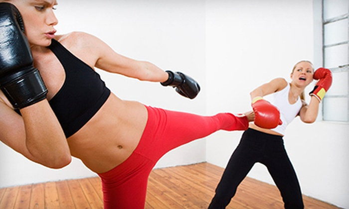 Go For Broke Fitness Concepts - Hudson Business Park: 10 or 20 Kickboxing or Group Fitness Classes at Go For Broke Fitness Concepts (Up to 58% Off)