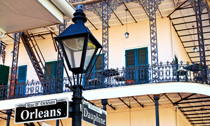 Ella Tours LLC - Multiple Locations: Historic New Orleans Walking Tour for One, Two, or Four from Ella Tours LLC (Up to 56% Off)