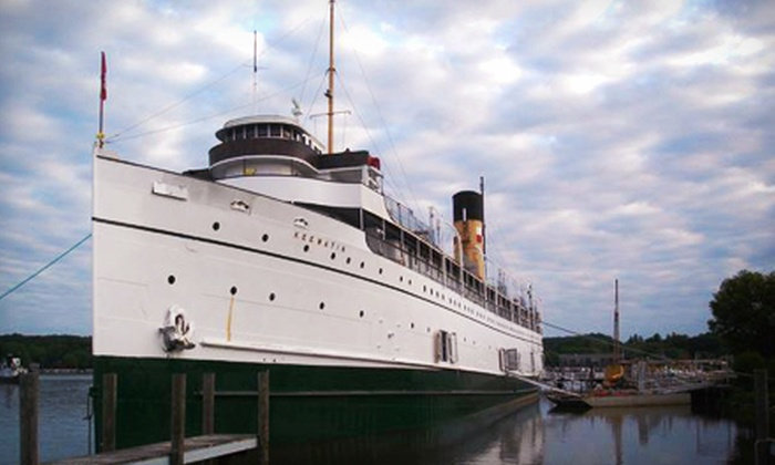 S.S. Keewatin - Port Mc Nicoll: C$10 for Two-Hour Upper Deck and Engine Room Boat Tour of the S.S. Keewatin (Up to C$20 Value)