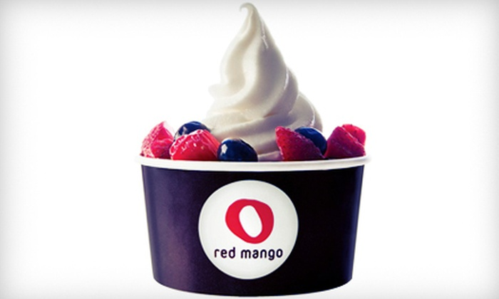 Red Mango - Heights: $5 for $10 Worth of Frozen Yogurt and Smoothies at Red Mango