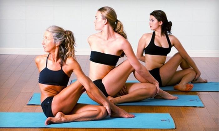 Bikram Yoga San Rafael & Power Yoga San Rafael - Bikram Yoga San Rafael: $15 for One Month of Unlimited Yoga at Bikram Yoga San Rafael & Power Yoga San Rafael (Up to $160 Value)