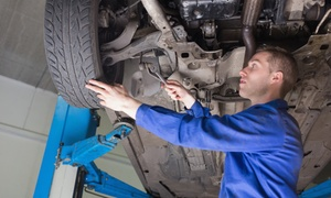 Schic Man Mecánica Confiable: $249 en vez de $900 por alineación + balanceo + control de tren delantero y trasero en Schic Man Mecánica Confiable