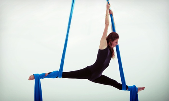 Dragon Power Fitness - Nicollet Island: One, Four, or Eight Aerial Fitness Classes, or One Month of Unlimited Classes at Dragon Power Fitness (Up to 69% Off)
