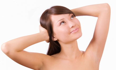 Six Laser Hair-Removal Treatments on a Small, Medium, Large, or Extra-Large Area (Up to 79% Off)