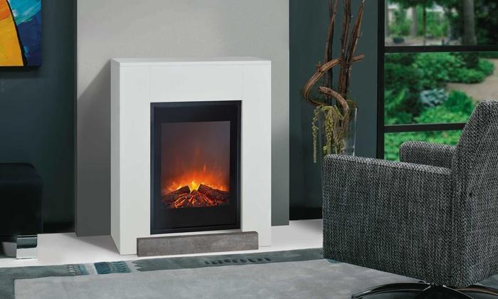 jusqu 39 21 chemin e lectrique ruby fires groupon. Black Bedroom Furniture Sets. Home Design Ideas