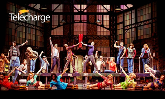 Kinky Boots on Broadway at Al Hirschfeld Theatre (Up to 36% Off). 40 Options Available, Offer Powered by Telecharge.