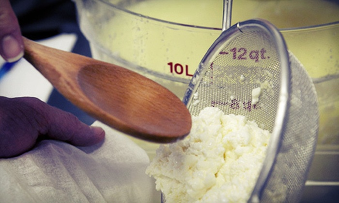 River Valley Cheese - Snoqualmie Valley: Mozzarella- and Blue-Cheese-Making Class for One, Two, or Four at River Valley Cheese (Up to 67% Off)