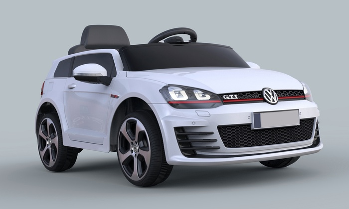 voiture lectrique pour enfant 12v volkswagen golf gti groupon shopping. Black Bedroom Furniture Sets. Home Design Ideas