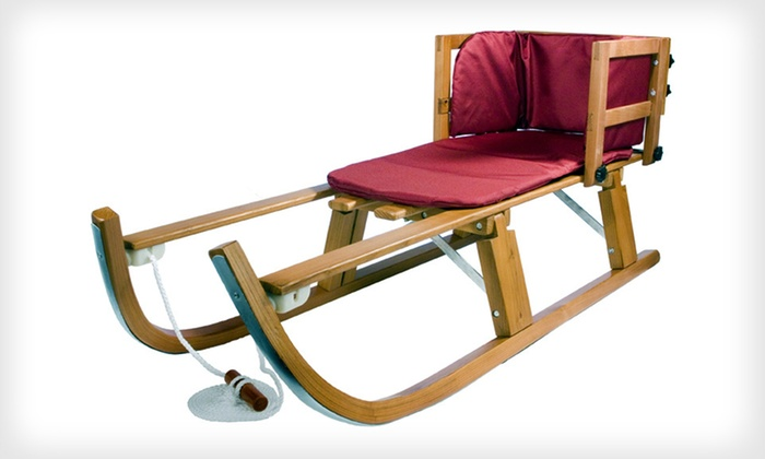 Lucky Bums Wooden Heirloom Pull Sled: $79 for a Lucky Bums Kids' Wooden Heirloom Pull Sled ($169.99 List Price). Free Shipping and Free Returns.