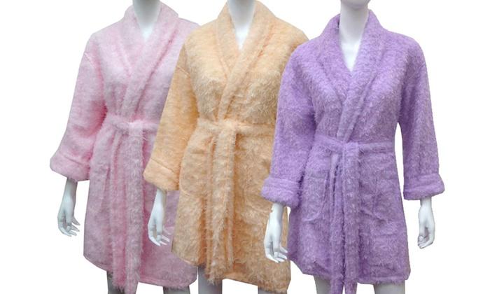 Aegean Apparel Women's Furry Robes : Aegean Apparel Women's Furry Robes. Multiple Colors Available. Free Returns.