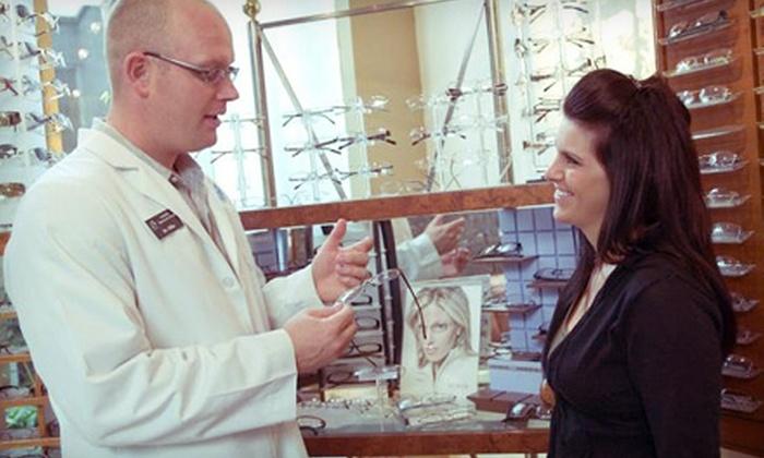 Lenhardt Optometric Group - Fullerton: Eye Exam and Prescription Eyewear at Lenhardt Optometric Group (77% Off). Two Options Available.