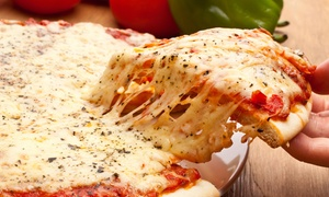 Steve's Pizza: Pizza, Sandwiches, and Pasta at Steve's Pizza (Half Off). Two Options Available.