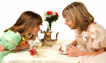 Tea Party for One, Two, or Three Mother-Daughter Duos at Let's Pretend Tea Parties (Up to 62% Off)