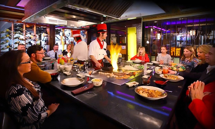 Samurai Japanese Restaurant - Colonie: Hibachi Entrees for Two or Four at Samurai Japanese Restaurant (Up to 44% Off)