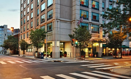 Groupon Deal: Stay at Hampton Inn Philadelphia Center City-Convention Center in Philadelphia, with Dates into March