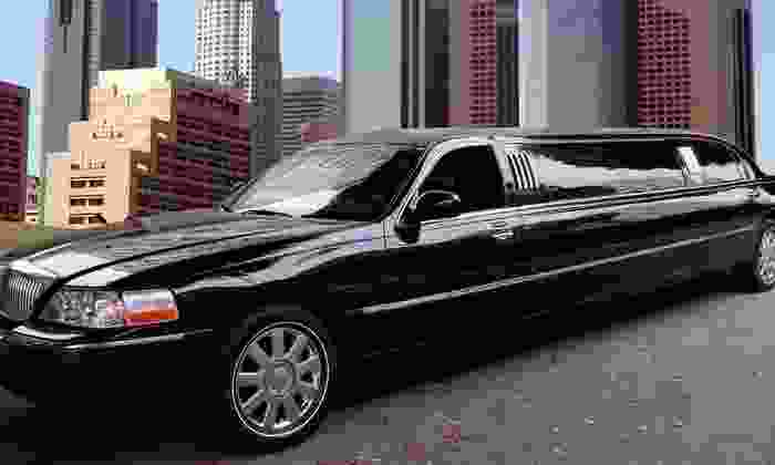 Marriton Limousine - Downtown: Four-, Six-, or Eight-Hour Stretch Limo Rental for Eight from Marriton Limousine (44% Off)