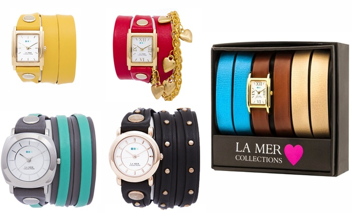 La Mer Women's Watches in Choice of Styles and Colour from AED 99