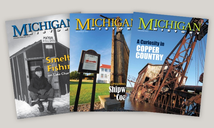 "Michigan History Magazine - Grand Rapids: $9.99  for One-Year Subscription to ""Michigan History"" Magazine ($19.95  Value)"