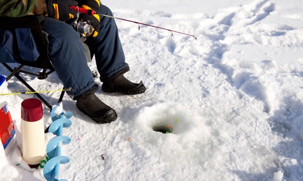 Catch-and-Release or Fillet-and-Freeze Ice-Fishing for Two from Taft's Tackle & Charter Services (Up to 75% Off)