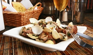 Lusiadas Portuguese Restaurant: Portuguese Dinner for Two or Four with Appetizers and Entrees at Lusiadas Portuguese Restaurant (Up to 44% Off)