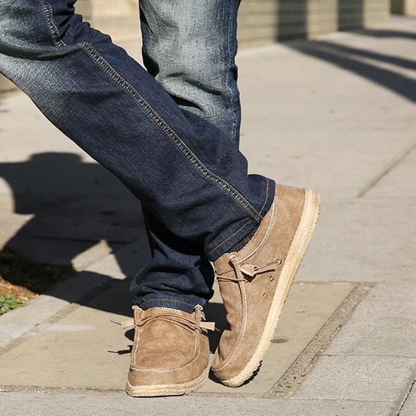 Men's Canvas Loafer   Groupon Goods