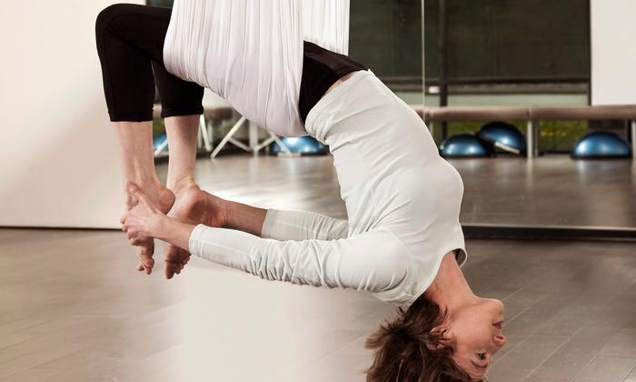inShape Ladies Fitness - Southside/Mandarin: 5 or 10 Pole Fitness or Aerial Fitness Classes at inShape Ladies Fitness (70% Off)