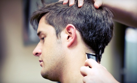 Men's Grooming Package (a $38 total value) - The Gentlemen's Cut in Rutherford