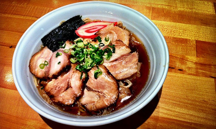 Kissaten Japanese Noodle Shop - Waikiki: Ramen Meal with Fried Rice for Two of Four at Kissaten Japanese Noodle Shop (Up to 55% Off)