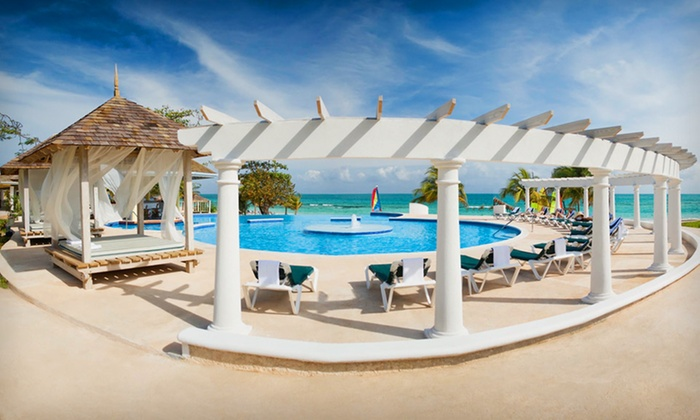 Jamaican Beach Vacation with Airfare - Greeley: 6- or 7-Night All-Inclusive Stay at Jewel Runaway Bay Beach & Golf Resort with Round-Trip Airfare from Vacation Express