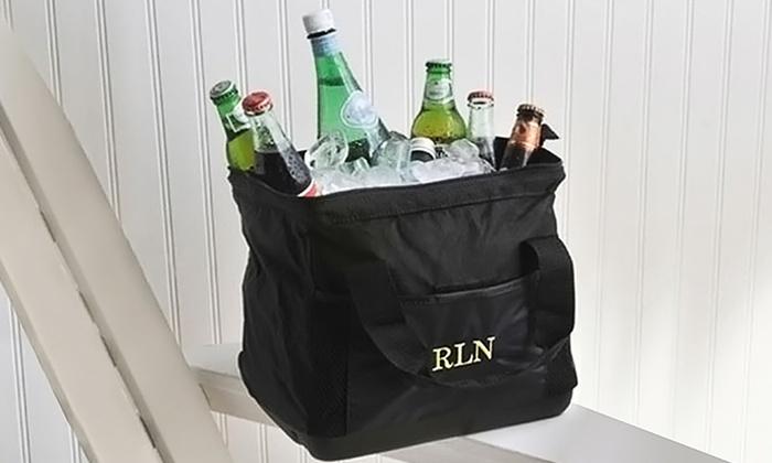 Monogram Online: Custom-Embroidered Cooler Bag from Monogram Online