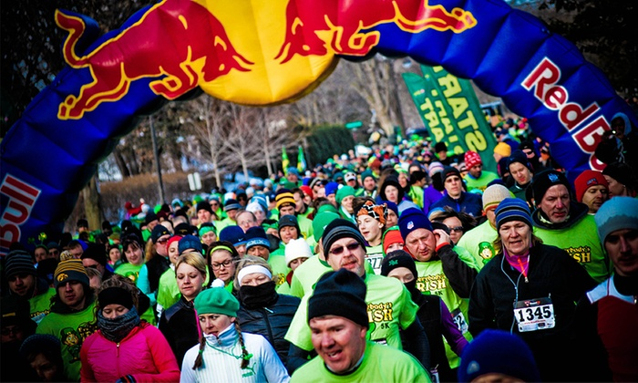 Everybody's Irish 5K St. Patty's Day Run - Lake Calhoun Park: Race Registration for One, Two, or Four for the Everybody's Irish 5k St. Pattys Day Run on 3/14 (Up to 43% Off)