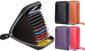 Porte-cartes RFID unisexe