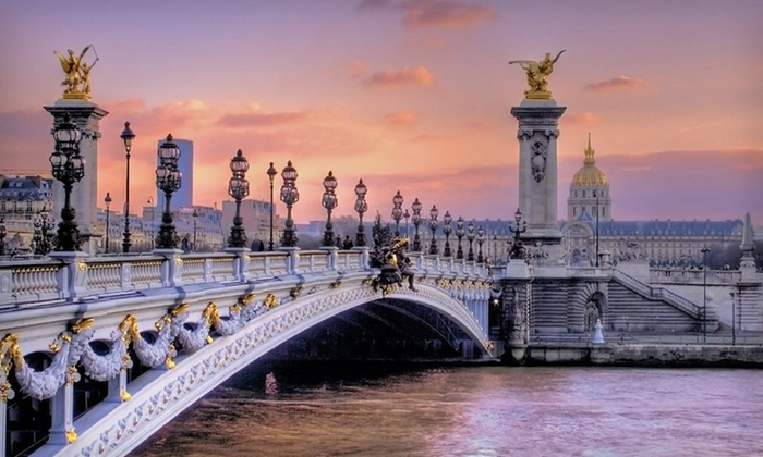 Keytours Vacations - Paris: 8-Day, 6-Night Tour of Paris and Nice with Round-Trip Airfare from Key Tours International