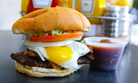 $11 for $20 Worth of Tacos and Burgers at Cuatro's
