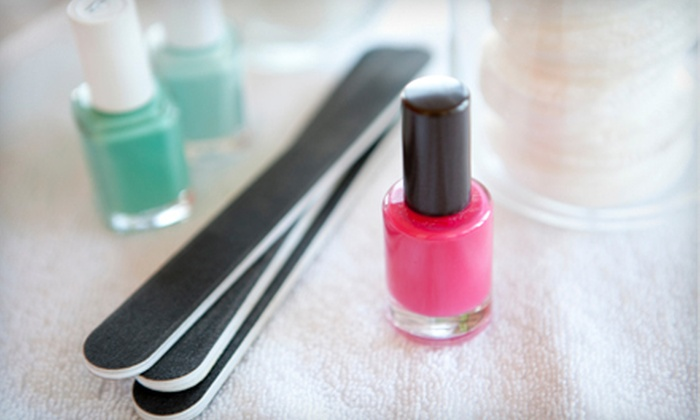 Nails by Kat Hartford - Sherwood Manor: One or Three Shellac Manicures and Regular Pedicures at Nails by Kat (Up to 55% Off)