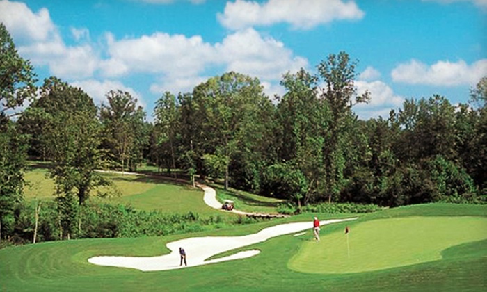 Eagle Ridge Golf Club - Garner: 18-Hole Round of Golf with Cart for One or Four, or One-Month Family Membership at Eagle Ridge Golf Club (Up to 65% Off)