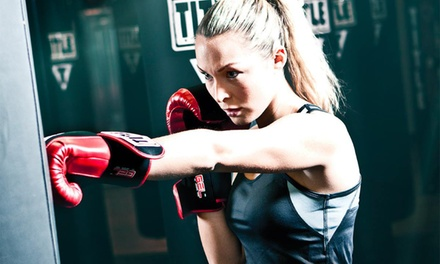 Two Weeks of Unlimited Classes with Hand Wraps for One or Two at Title Boxing Club (Up to 57% Off)