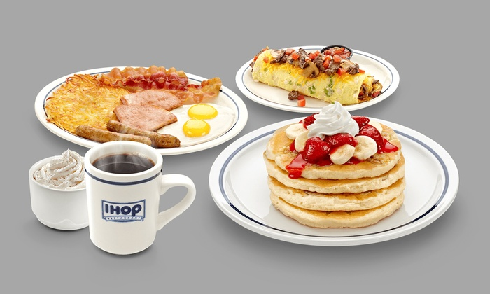 IHOP - Multiple Locations: $25 for Two Groupons, Each Good for $20 Worth of Food at IHOP ($40 Total Value)
