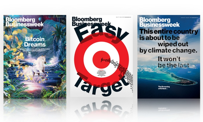 Bloomberg Businessweek: 1- or 2-Year Bloomberg Businessweek Subscription with iPad and iPhone Access