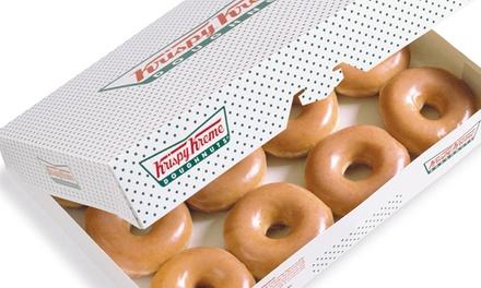 Two Dozen Doughnuts Krispy Kreme Doughnuts South
