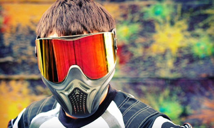 null - Wasilla: Day of Paintball with Equipment Rentals for 2, 4, or 10 at Wasilla SplatterHouse Paintball (Up to 61% Off)