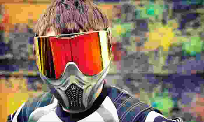 Wasilla SplatterHouse Paintball - Wasilla: Day of Paintball with Equipment Rentals for 2, 4, or 10 at Wasilla SplatterHouse Paintball (Up to 61% Off)