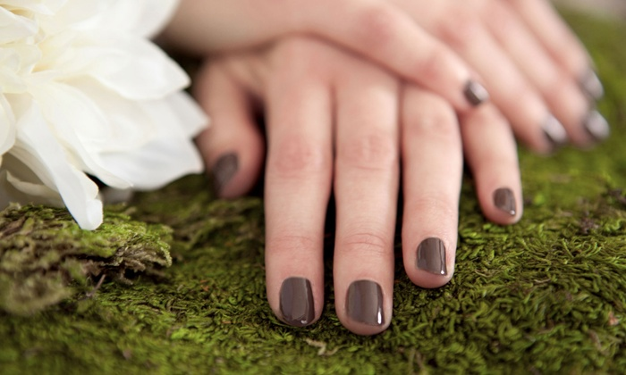 Nails by Trish - Summerlin: $25 for a Gel-Polish Manicure at Nails by Trish (Up to $35 Value)